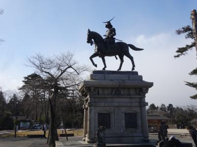 日本100名城を行く(仙台城)