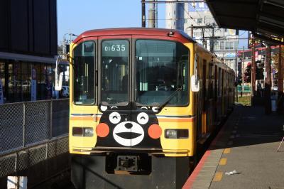 我が家流バラバラ家族旅行 【その3】熊本で電車に乗って
