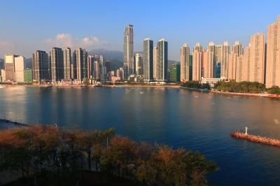 香港★荃灣から橋を渡って青衣へおさんぽに ~青荃橋・青衣城~