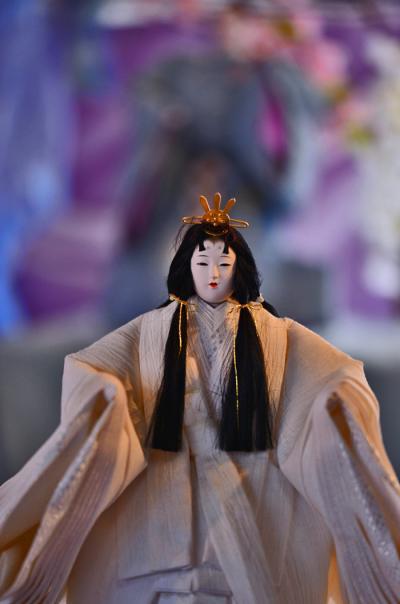 2019 近江上布(麻布)の衣装をまとった「清湖雛」