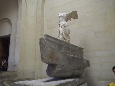 ルーヴル美術館(フランスツアー5日目前半)