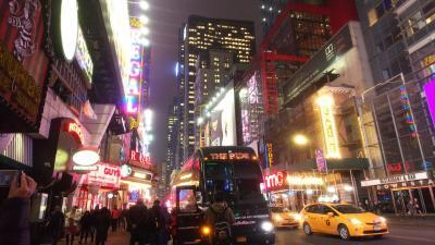3泊5日  真冬の弾丸ニューヨーク旅