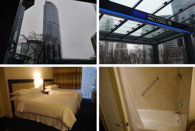 2017年3月【2】バンクーバー&ホーチミンの旅(バンクーバー到着、宿泊先シェラトン・バンクーバー・ウォールセンターへ)
