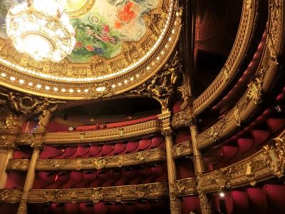 シャガールが描いた天井画「夢の花束」を一目見たくてにオペラ・ガルニエへ