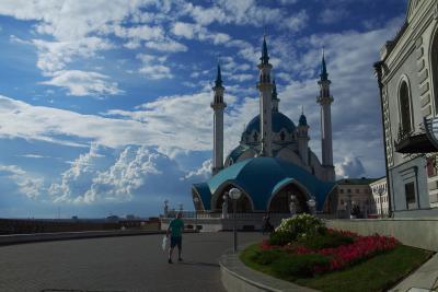 【ロシアワールドカップとチロル&ドロミテ】旅の最後はカザンクレムリンの美しさが際立っていたカザンへ