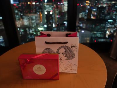 バレンタインはCONRAD大阪で♪キングエグゼクティブスィート泊