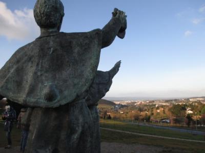 シニアのツアーで行く北部スペインてんこ盛りの旅7日間 その1 サンティアゴデコンポステーラ 2019年2月