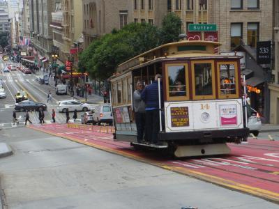 ANAの40000マイルで2月のサンフランシスコへ 1日目:市内観光