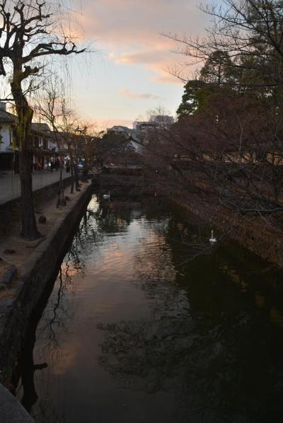 瀬戸内島巡り紀行 倉敷美観地区、観龍寺、倉敷公民館などそして夕暮れの街を散策しました。