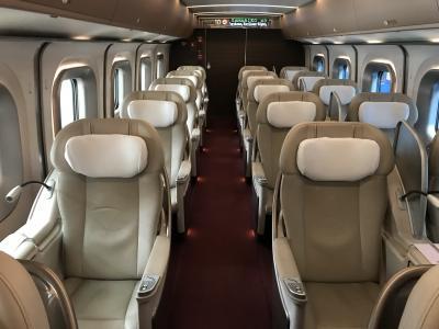 東北新幹線やまびこ号グランクラス搭乗記 東京→盛岡