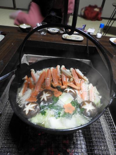 兵庫県豊岡市竹野町に蟹を食べに行ってきました。