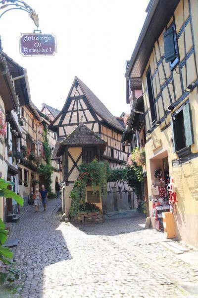 かわいい村巡り☆初秋のドイツ・黒い森とフランス・アルザス、木組みの家を求めて 3日目 その2 エギスハイム