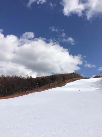 八ケ岳でスキー