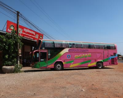 カンボジア王室鉄道に乗ってプチバカンス vol.4 安くて速くて快適なバスの旅