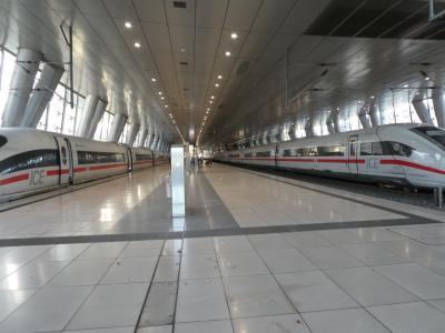 ドキドキ ドイツ(+7カ国)鉄道旅行 1日目 はじまりは大幅遅延から