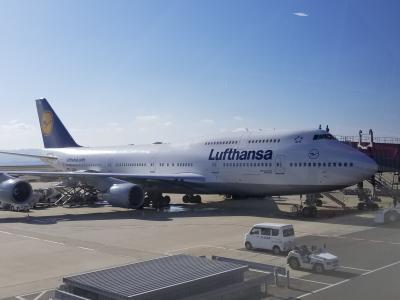 特典航空券 ルフトハンザビジネスクラスで行く二泊三日の弾丸ツアー ボーイング747-400