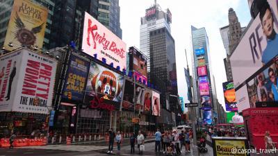 【12日間で世界一周1人旅⑨】はじめてのニューヨーク・マンハッタン散策(1日目)