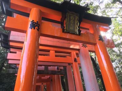 京都歩きまくり家族旅行、2泊3日だけど、満喫できます!