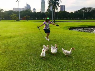 マニラでゴルフをしよう!!海外☆初ゴルフ第一弾☆