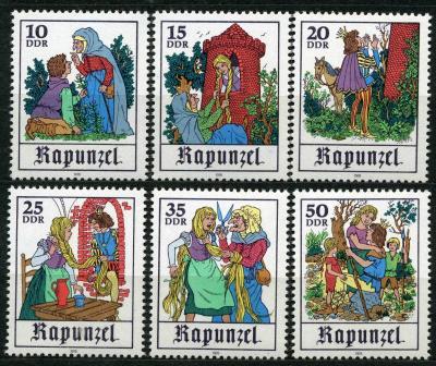 """ドイツの秋の旅で出会ったグリム童話・""""Rapunzelラプンツェル"""" (髪長姫)"""