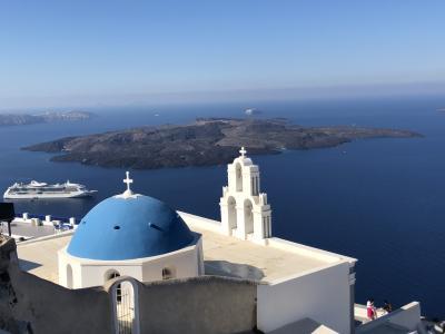 ギリシャ【6】サントリーニ島 フィラでのんびり