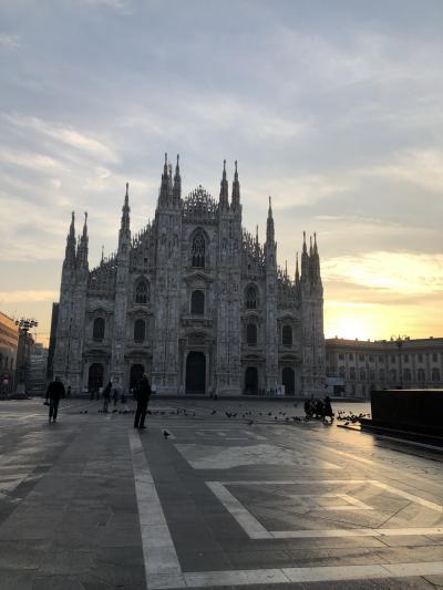 イタリア家族旅 5日目 ミラノ サンシーロスタジアム見学*
