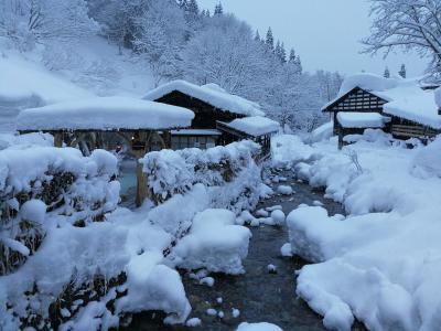 雪見風呂を求めて初めての秋田へ
