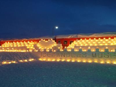 氷と蝋燭~下川町のアイスキャンドル~