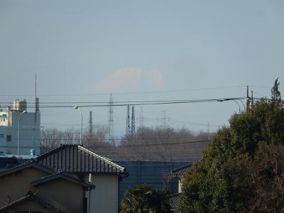 2月17日に見られた富士山