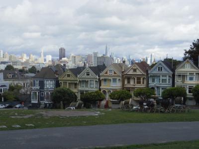 ANAの40000マイルで2月のサンフランシスコへ 2日目PM:ペインテッド・レディズ、SF-MOMA