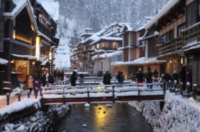 雪国紀行 2泊3日 横手のかまくら祭りと銀山温泉