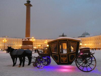 2019JAN・極寒のロシアへ・世界遺産の宝庫サンクトペテルブルグを堪能しました(前編)