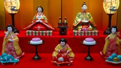ハウステンボスと長崎ランタンの3日間(40) 有田観光 陶器製の雛人形を探しての街歩き 上巻。
