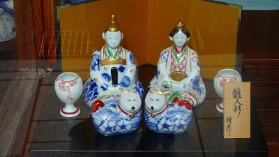 ハウステンボスと長崎ランタンの3日間(41)  有田観光 陶器製の雛人形を探しての街歩き 下巻。