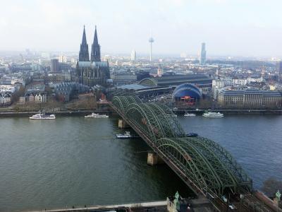 パリからタリスでケルン日帰り旅 < フランス・スイス・ドイツ鉄道の旅 6日目 >
