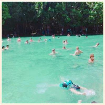 タイに再燃(*>ω<*)。★*゚。*。 大人女子旅 【1】 雪にも負けず、クラビで温泉♪ちょっと癒される