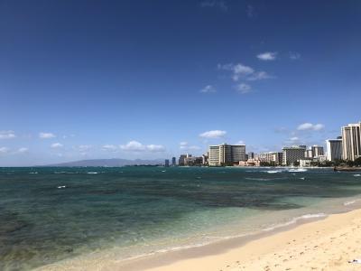 2度目のハワイ。