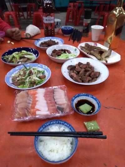 台湾春節 2019 初三 淡水街歩き 士林社子で新年会