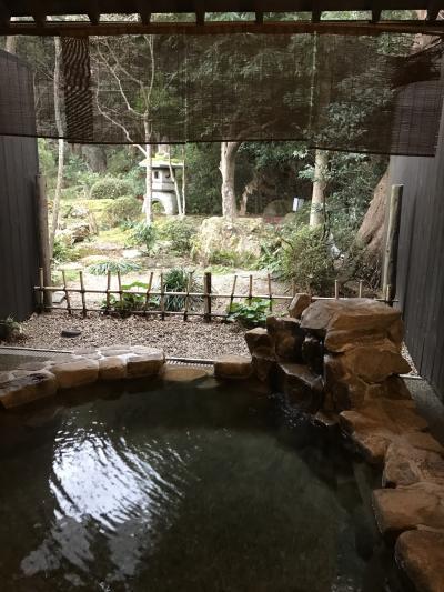 日本三美人の湯 湯の川温泉 湯宿草庵に泊まる旅