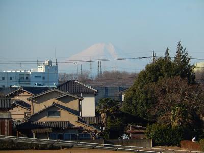 2月18日の富士山