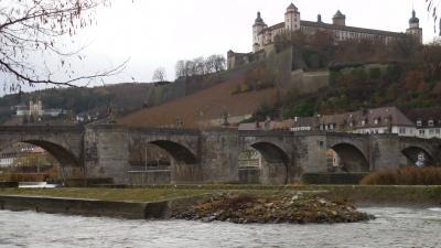冬のメルヘン ドイツ、東フランスを巡る 22(ドイツ編) 10日目① ヴュルツブルク