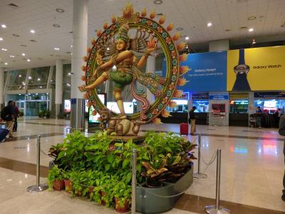 南インド女一人旅 ①・徹夜って…。誰だ、こんな予定組んだの!?(チェンナイ)