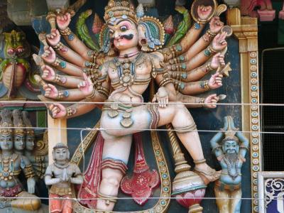 南インド女一人旅 ③・喧騒の真ん中の静寂(マドゥライ)