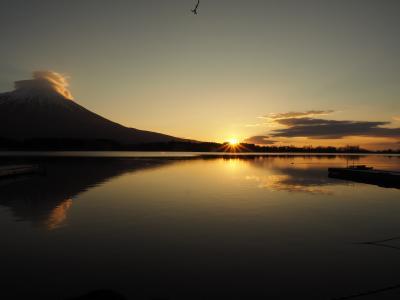 富士山の日の出を見るプチ旅