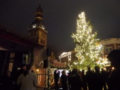 Day 4-3 Latvijas Lācisとバルト三国里帰り&クリスマスマーケット★人生初の自力渡航(リガのクリスマスマーケット)