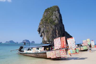 タイに再燃(*>ω<*)。★*゚。*。 大人女子旅 【2】 クラビの4島を ヒップホップ ジャンプーヽ(*´ω`)ノ゙