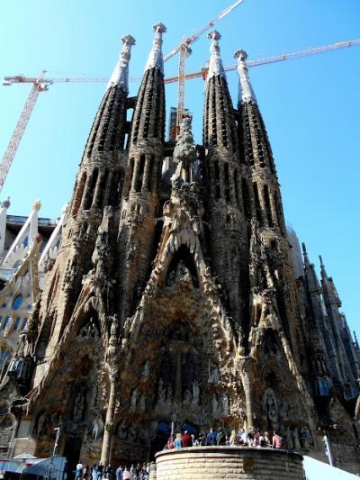 MSC 西地中海クルーズ①バルセロナ観光と上船