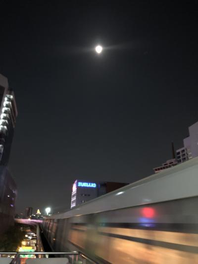 平成最後のバンコク③日本ではスーパームーン タイではマーカブーチャ