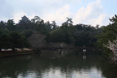 水の都・冬の松江城下町