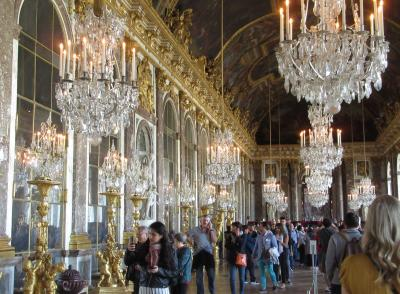 パリの街歩き2018(第6回)4日目午前 ヴェルサイユ宮殿 Town walk in Paris/Chateaux de Versailles